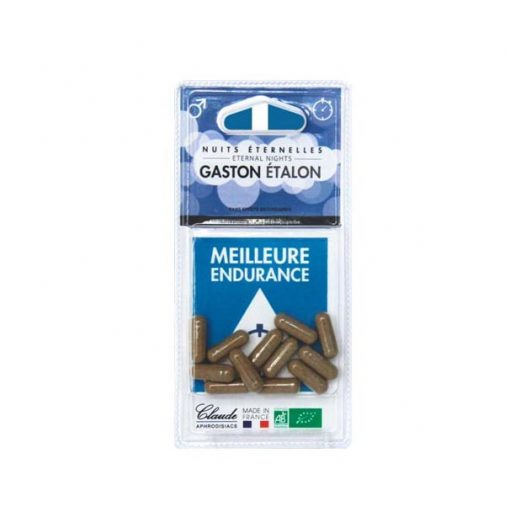 Bio naturel et fabriqué en france Gaston etalon stop ejaculation